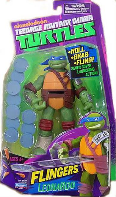 Teenage Mutant Ninja Turtles Nickelodeon Flingers Leonardo Action Figure