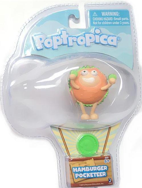 Poptropica Pocketeer Hamburger 2-Inch Mini Figure