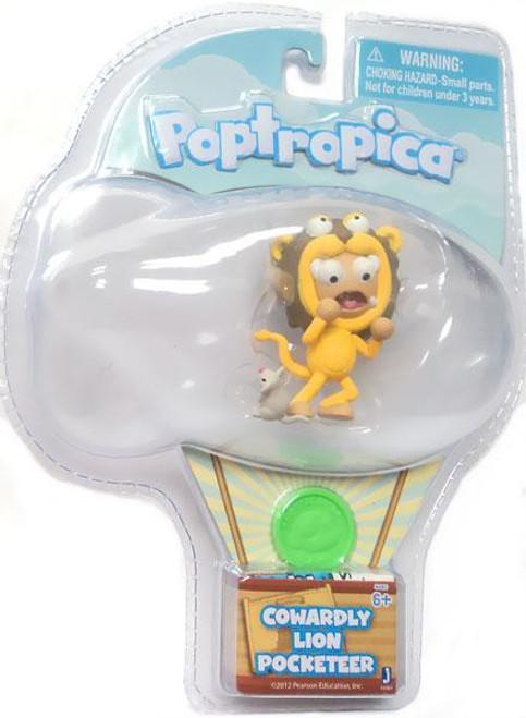 Poptropica Pocketeer Cowardly Lion 2-Inch Mini Figure