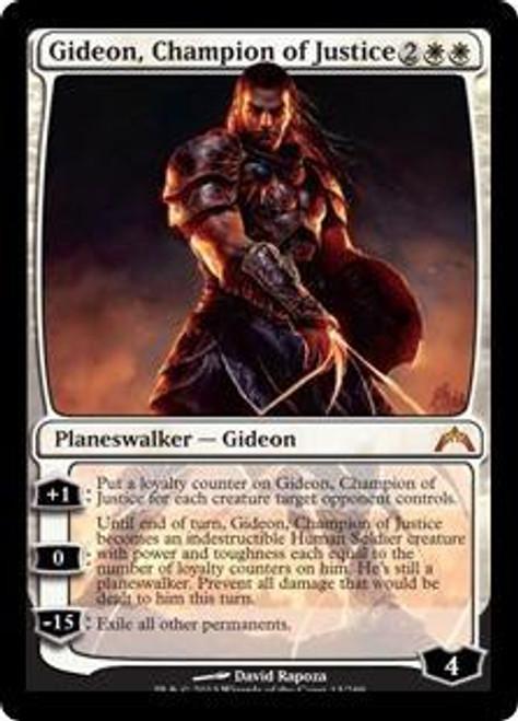 MtG Gatecrash Mythic Rare Gideon, Champion of Justice #13