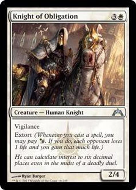 MtG Gatecrash Uncommon Knight of Obligation #18
