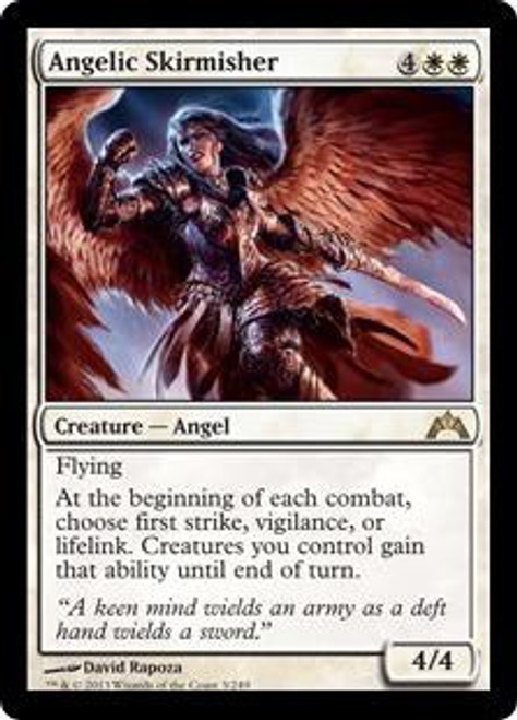 MtG Gatecrash Rare Angelic Skirmisher #3