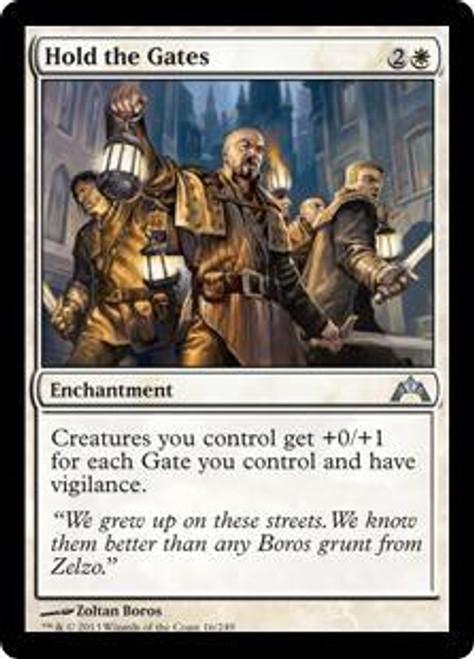 MtG Gatecrash Uncommon Hold the Gates #16