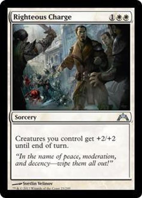 MtG Gatecrash Uncommon Righteous Charge #23