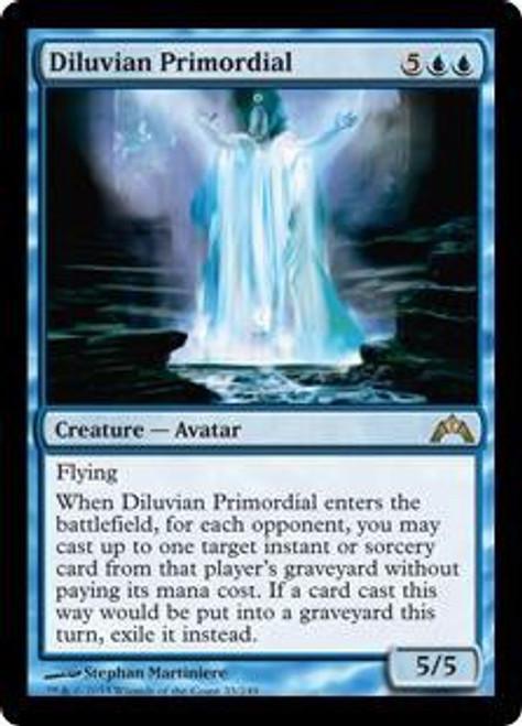 MtG Gatecrash Rare Diluvian Primordial #33