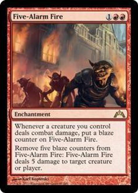 MtG Gatecrash Rare Five-Alarm Fire #91