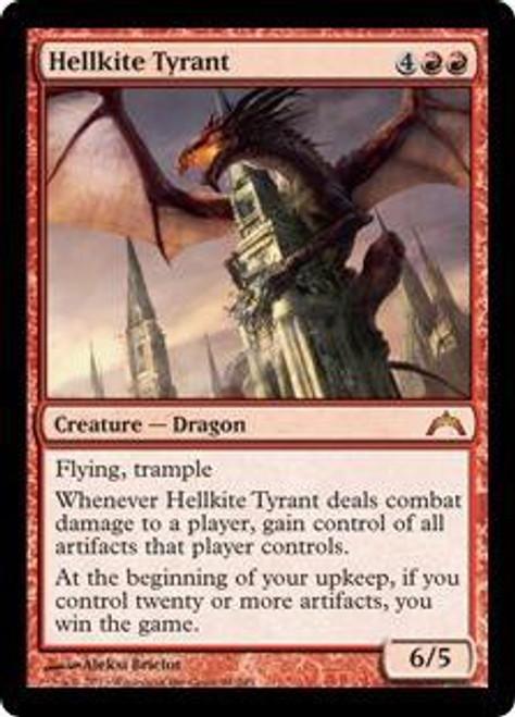 MtG Gatecrash Mythic Rare Hellkite Tyrant #94