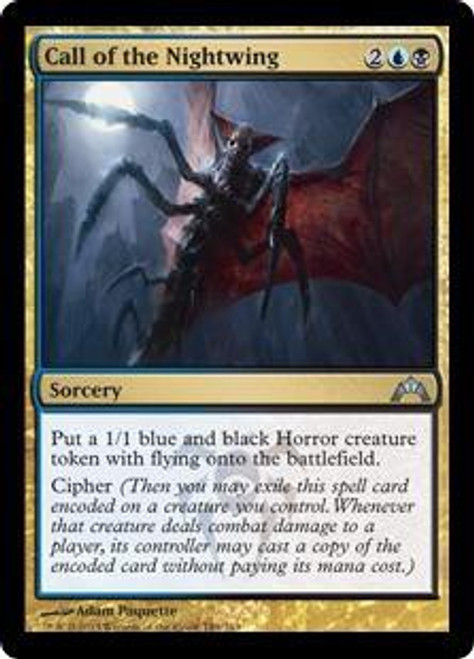 MtG Gatecrash Uncommon Call of the Nightwing #149