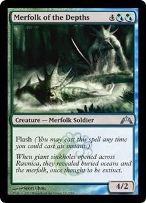 MtG Gatecrash Uncommon Merfolk of the Depths #221