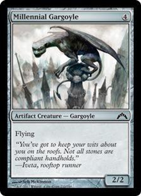 MtG Gatecrash Common Millennial Gargoyle #232