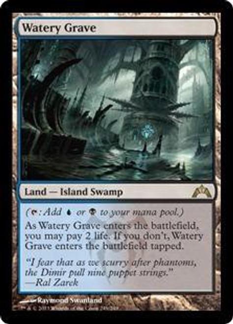 MtG Gatecrash Rare Watery Grave #249