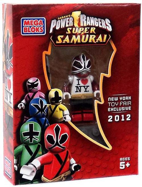 Mega Bloks Power Rangers Super Samurai I Love NY Red Ranger Exclusive Minifigure