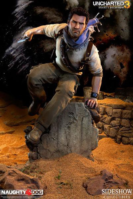Uncharted Drakes Deception Premium Format Nathan Drake Statue