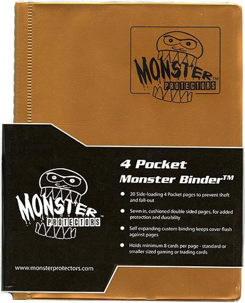 Card Supplies Gold 4-Pocket Binder
