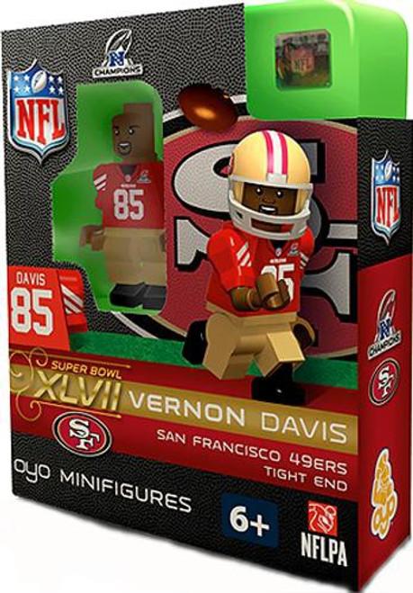 San Francisco 49ers NFL Super Bowl XLVII Vernon Davis Minifigure