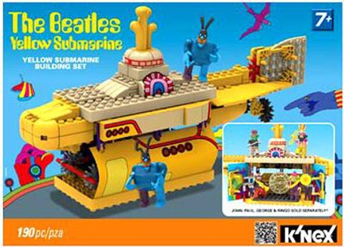 K'NEX The Beatles Yellow Submarine Set #48464