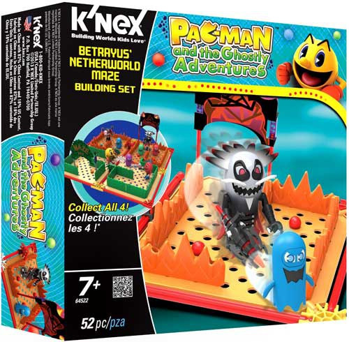K'NEX Pac-Man Pac Man and the Ghostly Adventures Betrayus' Netherworld Maze Set #64522