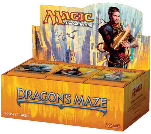MtG Trading Card Game Dragon's Maze Booster Box [36 Packs]
