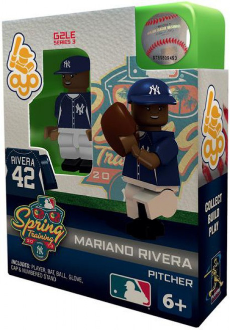 New York Yankees MLB Generation 2 Series 3 Mariano Rivera Minifigure [Spring Training]