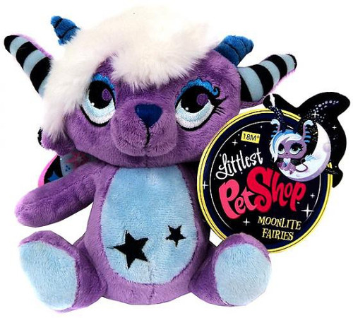 Littlest Pet Shop Moonlite Fairies Lilac Fairie 7-Inch Plush