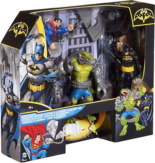 Batman Killer Croc Takedown Playset