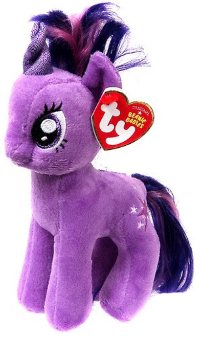 My Little Pony Twilight Sparkle Beanie Baby Plush