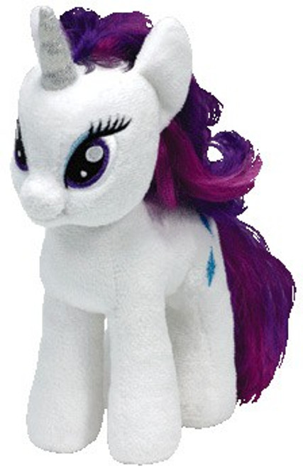 My Little Pony Rarity Beanie Baby Plush