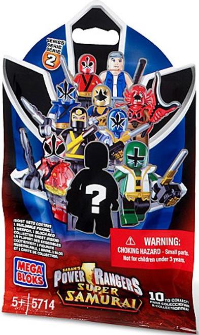 Mega Bloks Power Rangers Super Samurai Series 2 Mystery Pack