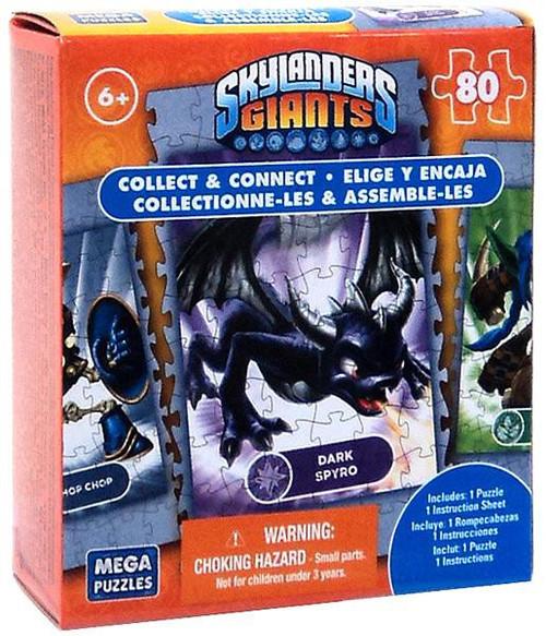 Skylanders Giants 80-Piece Puzzles Dark Spyro Puzzle