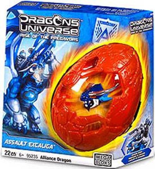 Mega Bloks Dragons Universe Assault Excaliga Set #95235