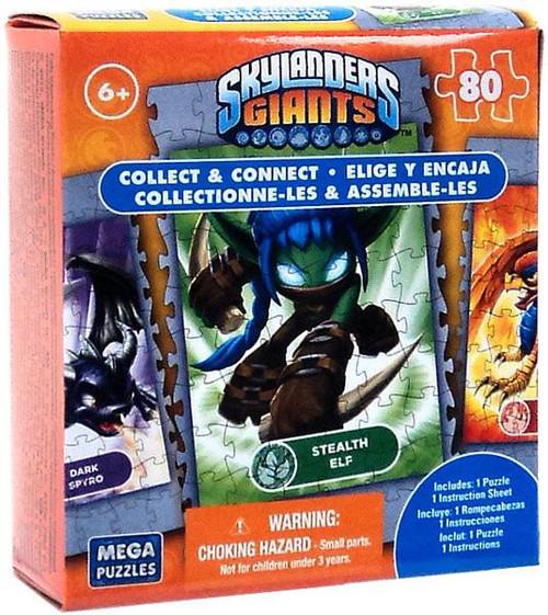 Skylanders Giants 80-Piece Puzzles Stealth Elf Puzzle