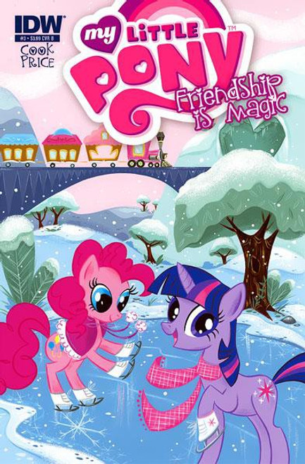 My Little Pony Friendship is Magic #3 Comic Book [Cover B]