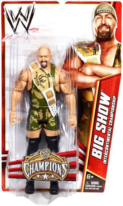 WWE Wrestling Champions Big Show Exclusive Action Figure