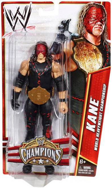 WWE Wrestling Champions Kane Exclusive Action Figure
