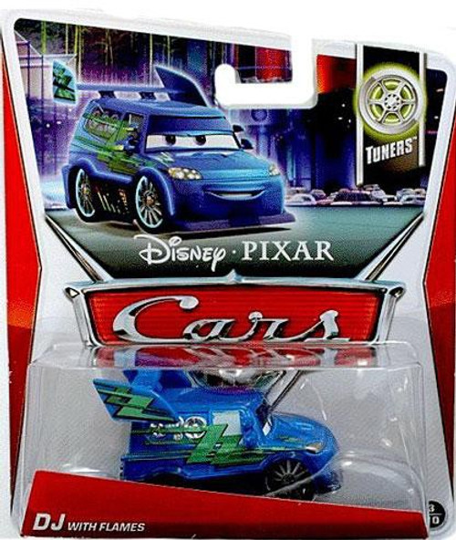 Disney / Pixar Cars Series 3 DJ with Flames Diecast Car