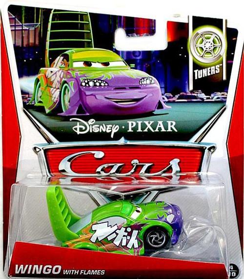 Disney / Pixar Cars Series 3 Wingo with Flames Diecast Car