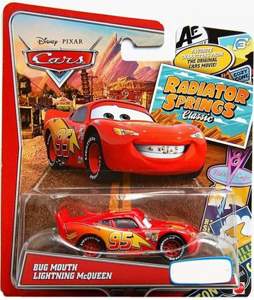 Disney / Pixar Cars Radiator Springs Classic Bug Mouth Lightning McQueen Exclusive Diecast Car