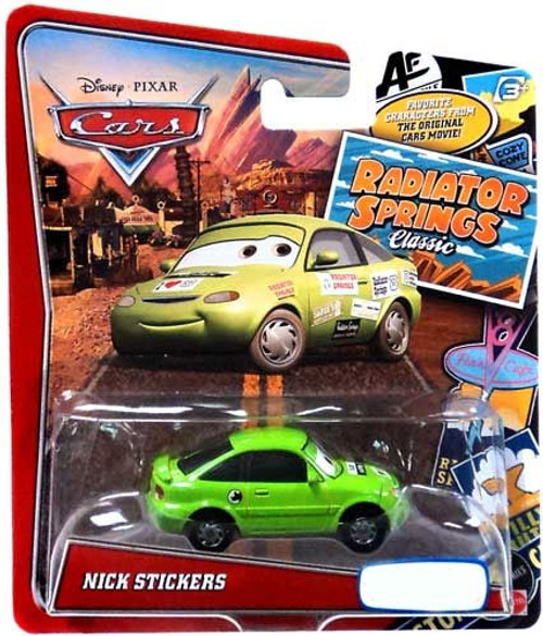 Disney / Pixar Cars Radiator Springs Classic Nick Stickers Exclusive Diecast Car