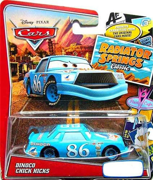 Disney / Pixar Cars Radiator Springs Classic Dinoco Chick Hicks Exclusive Diecast Car