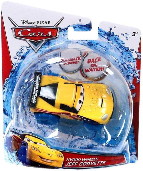 Disney / Pixar Cars Hydro Wheels Jeff Gorvette Plastic Car