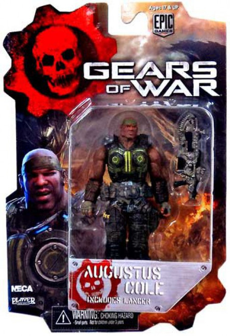 NECA Gears of War 3 Series 2 Augustus Cole Action Figure
