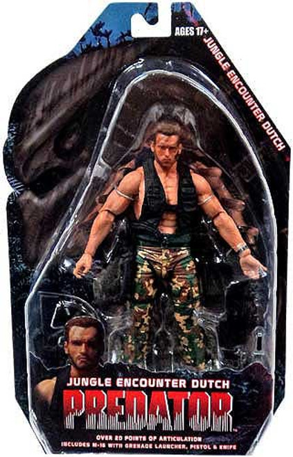 NECA Predator Series 9 Jungle Encounter Dutch Action Figure
