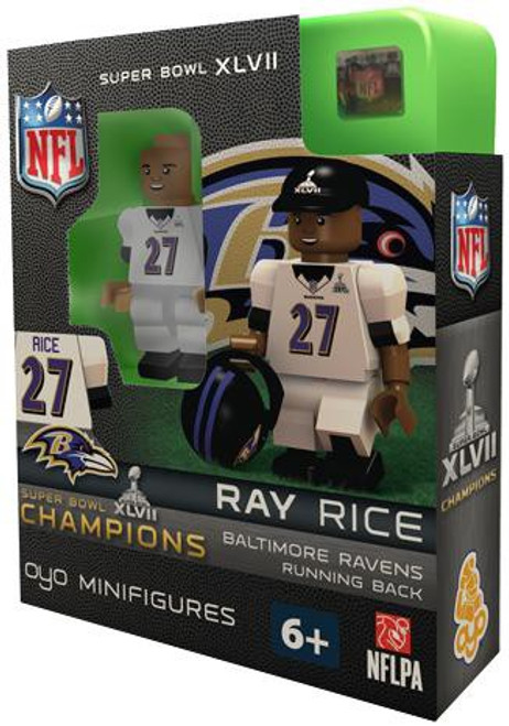 Baltimore Ravens NFL Super Bowl XLVII Champions Ray Rice Minifigure