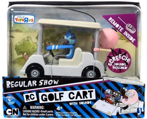 Cartoon Network Regular Show Golf Cart with Sound Exclusive Remote Control
