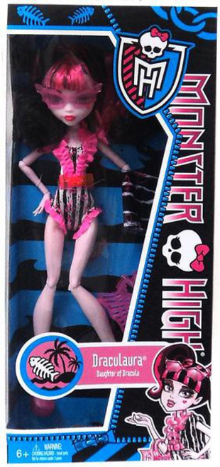 Monster High Swim Suit Draculaura 10.5-Inch Doll