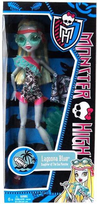 Monster High Swim Suit Lagoona Blue 10.5-Inch Doll