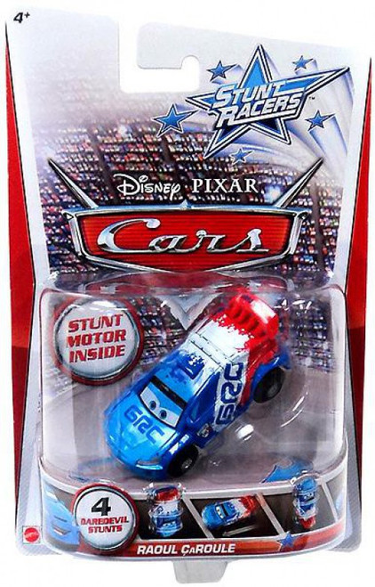 Disney / Pixar Cars Stunt Racers Raoul Caroule Plastic Car
