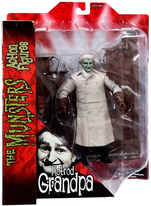 The Munsters Grandpa Munster Action Figure [Hot Rod]