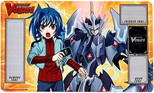 Cardfight Vanguard Card Supplies Aichi Sendou with Majesty Lord Blaster Playmat Play Mat