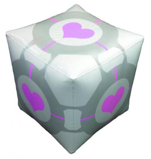 Portal 2 Ottoman Companion Cube Inflatable Toy